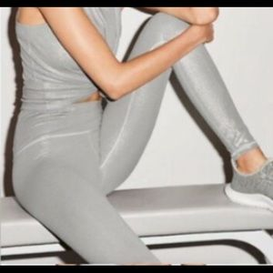 New Victoria's Secret Knockout tight silver M